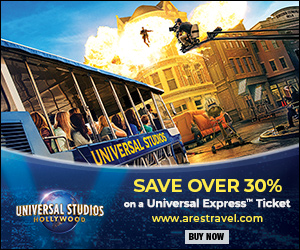 aRes Travel Exclusive - Save over 30% per person on Universal Express Ticket at Universal Studios Hollywood.